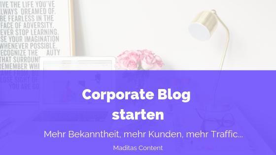 Corporate Blog starten oder nicht?