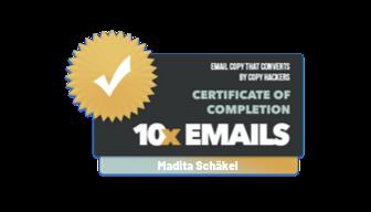 Texter E-Mail Sequenzen | Madita Schäkel