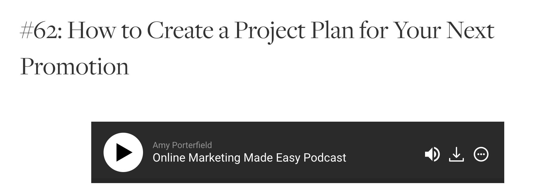 Content Upgrade für Podcasts und Blogs